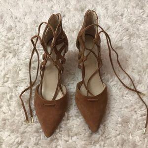 Marc Fisher beige heels